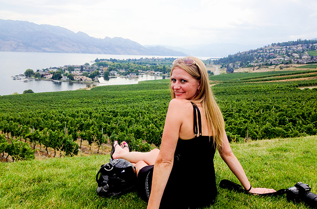 Mariska at Quails Gate Winery