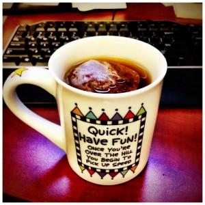 Quick Have Fun Coffee Mug