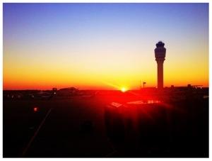 Sunrise at Atlanta Airport