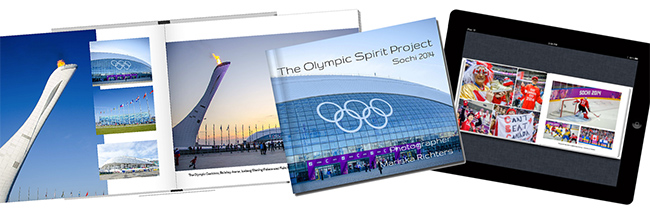 Olympic Spirit Project Book Promo