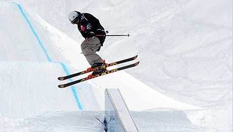 Ski Slope Skiing
