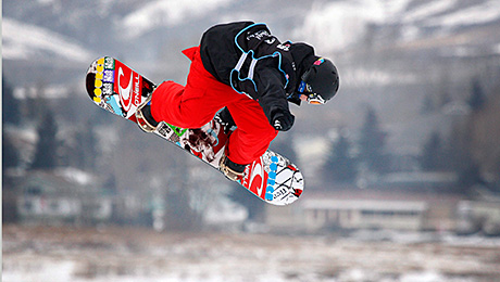 Snowboard Slope Style