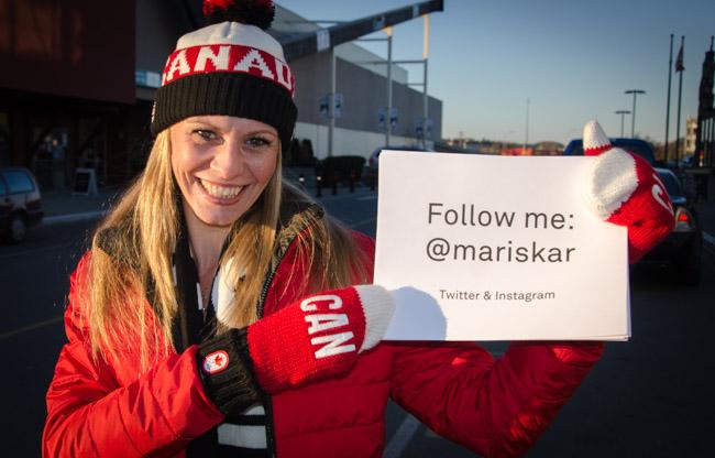 Follow me: @mariskar