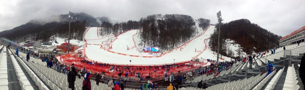 #Sochi2014 Women's Giant Slalom Event
