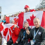 Misplaced Americans at the 2014 Olympics Ladies Snowboard Cross event