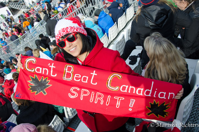 Can't Beat Canadian Olympic Spirit
