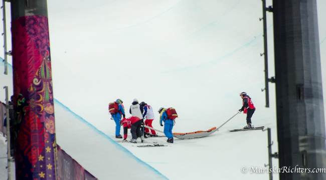 Olympics 2014 - Ladies Ski Cross