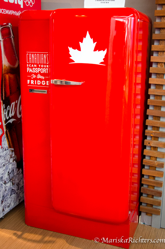 Molson Passport Fridge