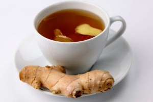 Ginger Tea for Headaches