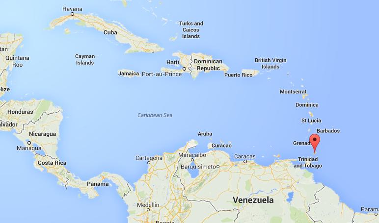 Tobago on Google Maps