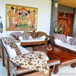 Villa Kembang Kertas Bali - Main floor deck and lounge areas.