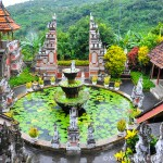 Buddhist Temple in Banjar, Bali