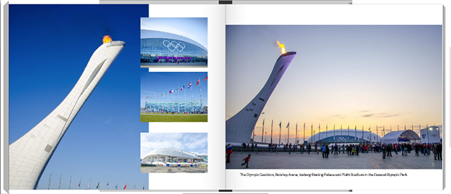 Olympic Spirit Project Book Sample