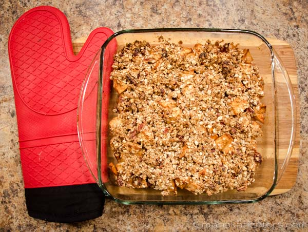 Apple Crisp - 21 Day Fix Approved